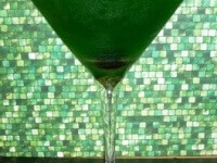 Green Eye Bourbon Cocktail